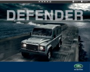 2012 Land Rover Defender Catalog Brochure page 1