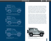 Land Rover Defender Catalogue Brochure, 2012 page 5