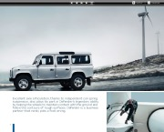 Land Rover Defender Catalogue Brochure, 2012 page 8