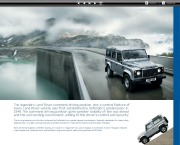 Land Rover Defender Catalogue Brochure, 2012 page 9