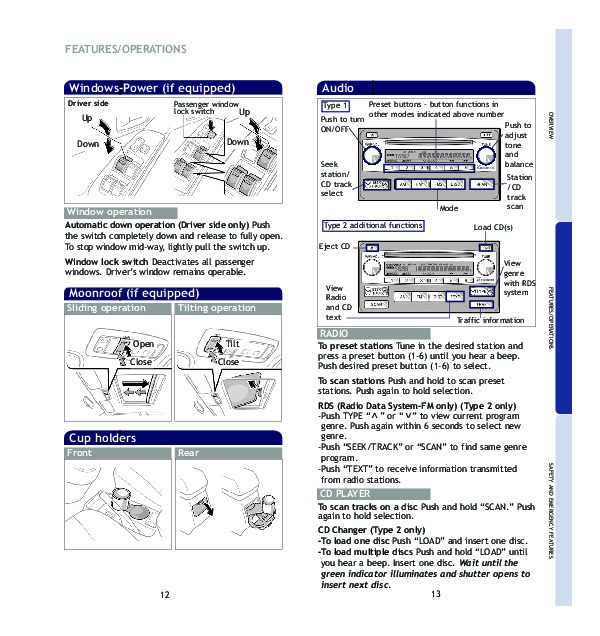Toyota Matrix Owners Manual PDF
