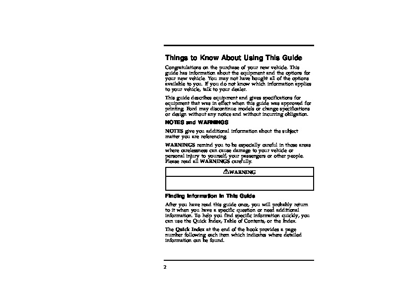 1996 ford explorer owners manual