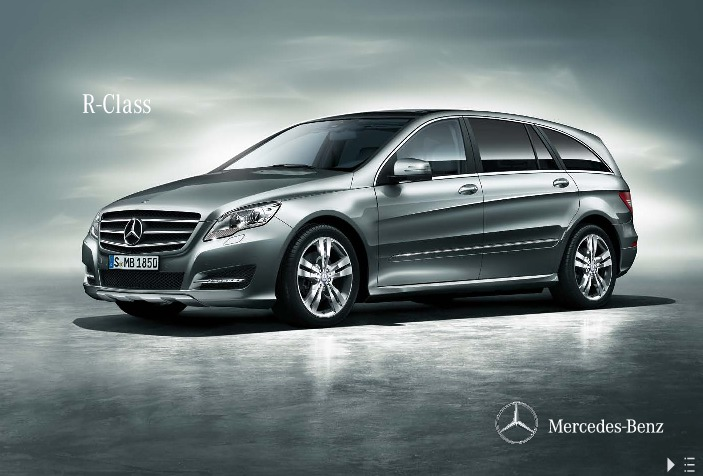 2011 mercedes benz r class r300 cdi r350 cdi v251 catalog uk. Black Bedroom Furniture Sets. Home Design Ideas