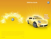 2008 Volkswagen New Beetle VW Catalog page 1