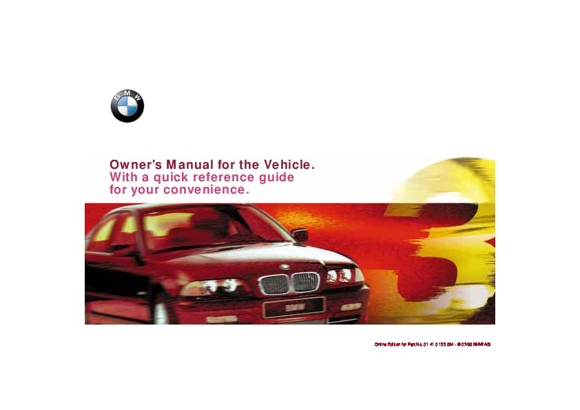 2000 bmw 323i 328i e46 owners manual rh auto filemanual com 2000 bmw 323i service manual download 2000 bmw 323i repair manual pdf