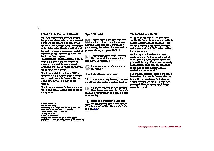 2000 bmw 323i 328i e46 owners manual rh auto filemanual com 2000 bmw 323ci repair manual 2000 bmw 323i repair manual pdf