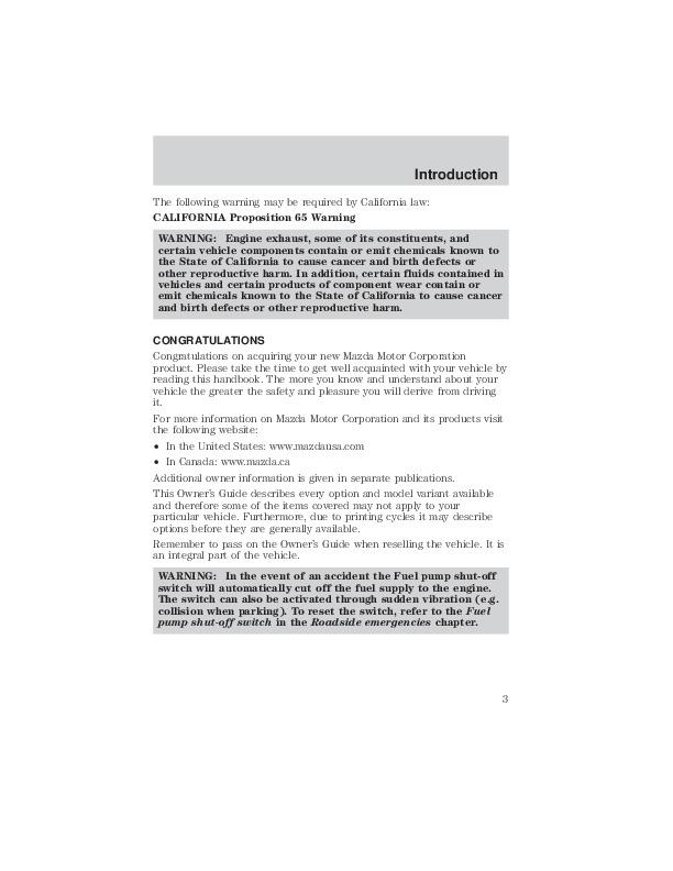 2002 mazda tribute owners manual rh auto filemanual com 2002 Kia Spectra Manual 2002 Mazda Tribute Dashboard Warnings