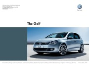 2010 Volkswagen Golf VW Catalog page 1