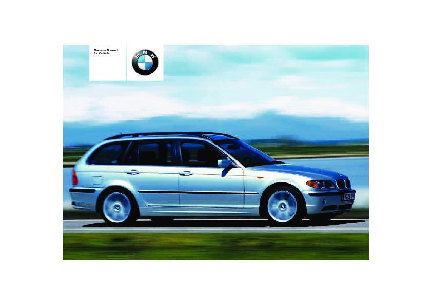 2004 bmw 3 series 325i 325xi e46 owners manual rh auto filemanual com  e46 owners manual pdf