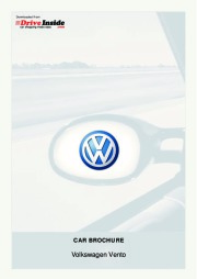 2010 Volkswagen Vento VW Catalog page 1