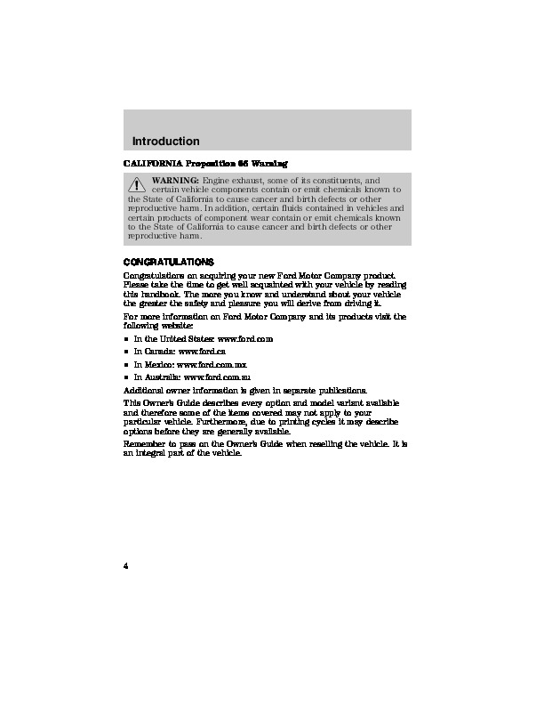 2003 ford escort owners manual. Black Bedroom Furniture Sets. Home Design Ideas