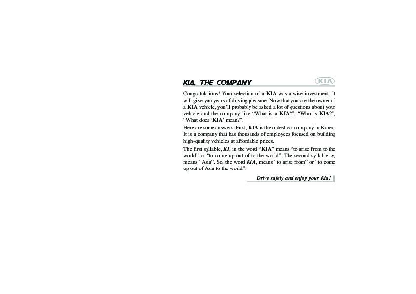 2010 Kia Soul Owners Manual