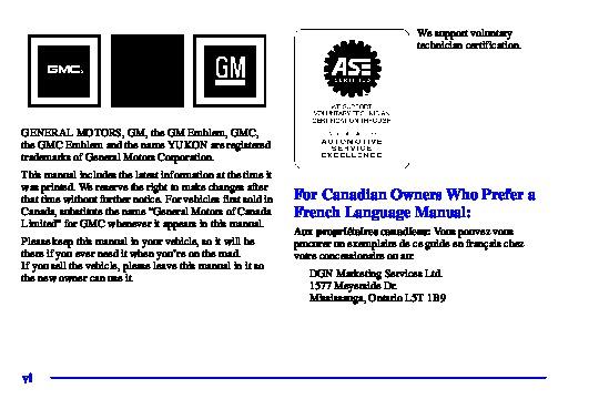 2001 gmc yukon xl owners manual rh auto filemanual com 2000 Yukon 2010 Yukon