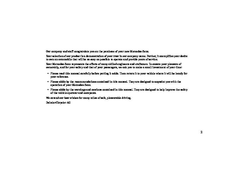 mercedes benz service manual w245