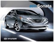 2011 Hyundai Sonata 2.4L Catalogue Brochure Canada page 1