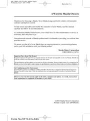 2005 mazda mx 5 miata owners manual rh auto filemanual com Miata Manual Transmission Miata Shop Manual