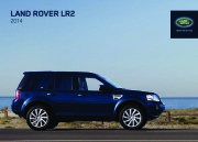 Land Rover LR2 Catalogue Brochure, 2014 page 1