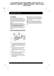 Land Rover Evoque Handbook Owners Manual, 2014, 2015 page 16