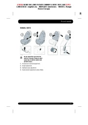 Land Rover Evoque Handbook Owners Manual, 2014, 2015 page 17