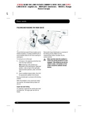 Land Rover Evoque Handbook Owners Manual, 2014, 2015 page 22