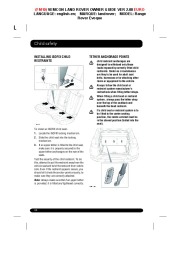 Land Rover Evoque Handbook Owners Manual, 2014, 2015 page 34
