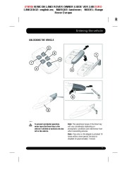 Land Rover Evoque Handbook Owners Manual, 2014, 2015 page 5