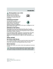 2006 Ford Fusion Owners Manual, 2006 page 5