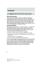 2006 Ford Fusion Owners Manual, 2006 page 6