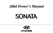 2004 Hyundai Sonata Owners Manual page 1