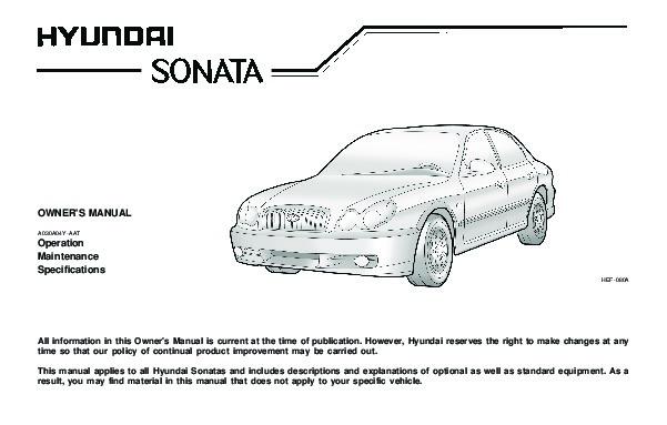 2004 hyundai sonata owners manual rh filemanual com hyundai sonata 2004 repair manual 2004 Hyundai Sonata Right Front Axle Manual