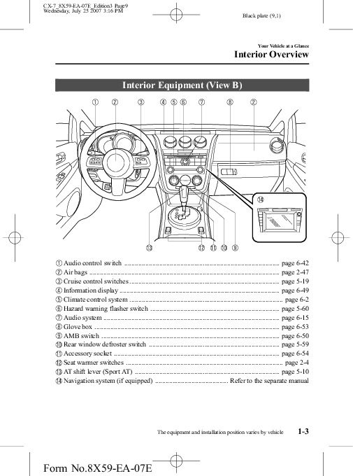 2008 mazda cx9 owners manual free owners manual u2022 rh wordworksbysea com 2013 mazda cx 9 user manual mazda cx-9 user manual pdf
