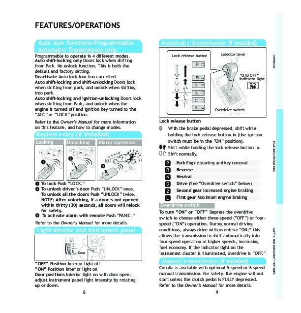 ford windstar user manual pdf download autos post. Black Bedroom Furniture Sets. Home Design Ideas