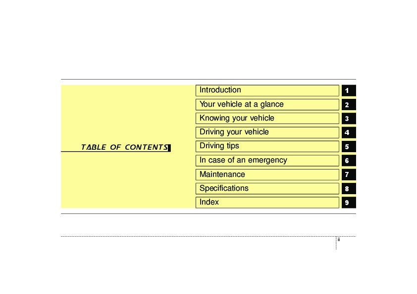 2006 kia spectra owners manual rh auto filemanual com 2006 kia spectra manual 2006 kia spectra service manual pdf