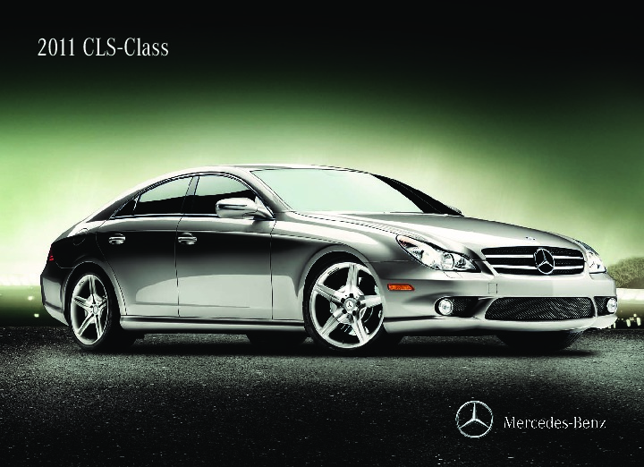 2011 mercedes benz cls class cls550 cls63 amg w219 catalog us for 2011 mercedes benz cls 550