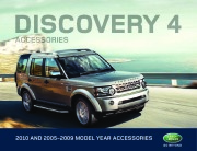 2005-2009 Land Rover Discovery 4 Accessories Catalog Brochure page 1
