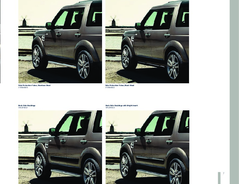 2005 2009 Land Rover Discovery 4 Accessories Catalog Brochure