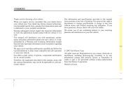 2008 Kia Sedona Owners Manual, 2008 page 2