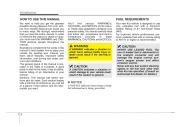 2008 Kia Sedona Owners Manual, 2008 page 5