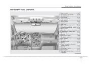 2008 Kia Sedona Owners Manual, 2008 page 9