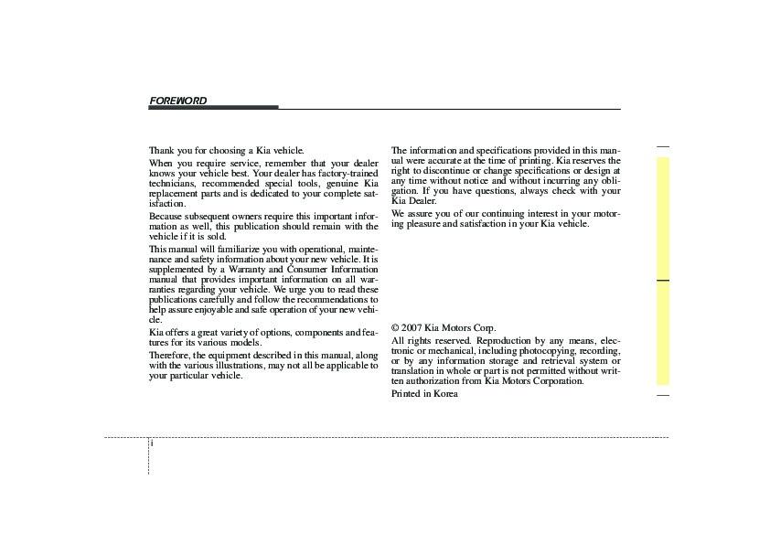 2007 kia spectra owners manual rh filemanual com 2007 kia spectra owners manual online 2007 kia spectra repair manual