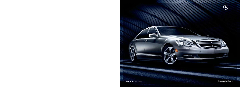 2010 mercedes benz s class brochure s400 hybrid s550 v 8 s600 v 12. Black Bedroom Furniture Sets. Home Design Ideas