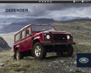 2013 Land Rover Defender Catalog Brochure page 1