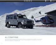 Land Rover Defender Catalogue Brochure, 2013 page 10
