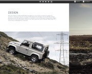 Land Rover Defender Catalogue Brochure, 2013 page 6