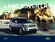 2011 Land Rover LR4 Catalog Brochure page 1