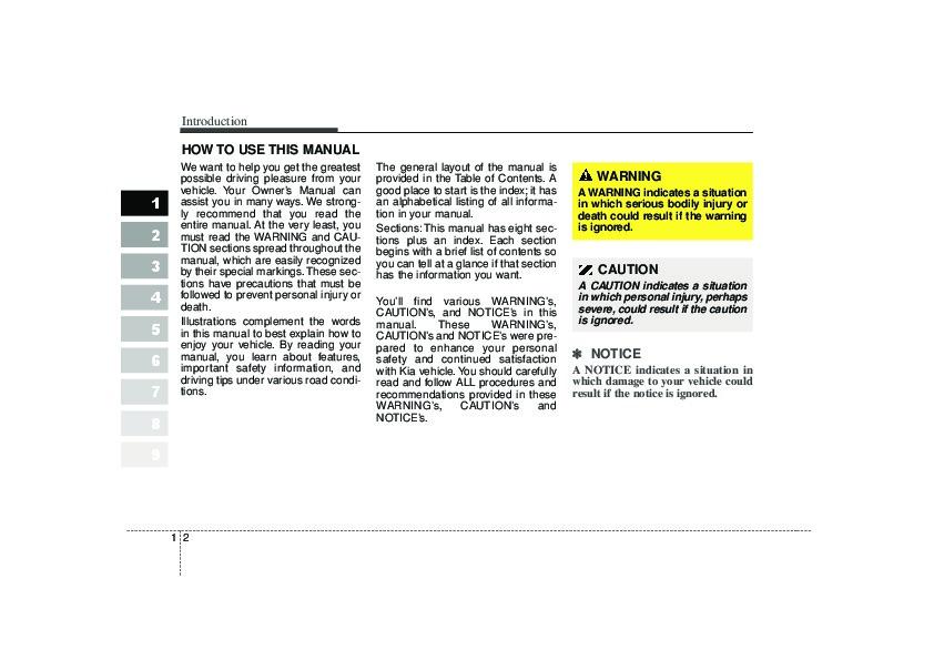 2020 Kia Sportage S Owners Manual Manual Guide