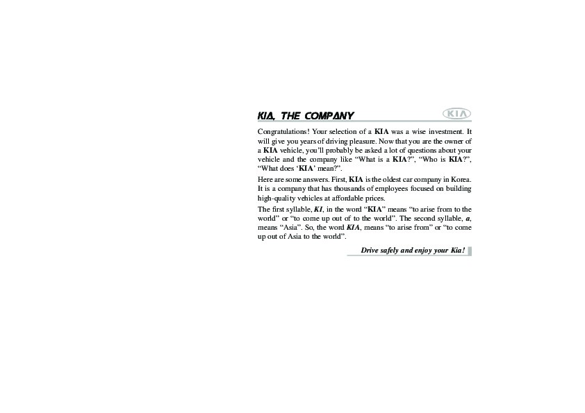 2008 kia rondo owners manual