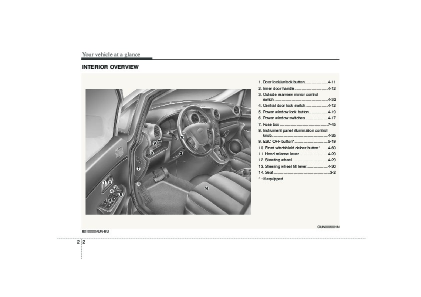 2008 kia rondo owners manual