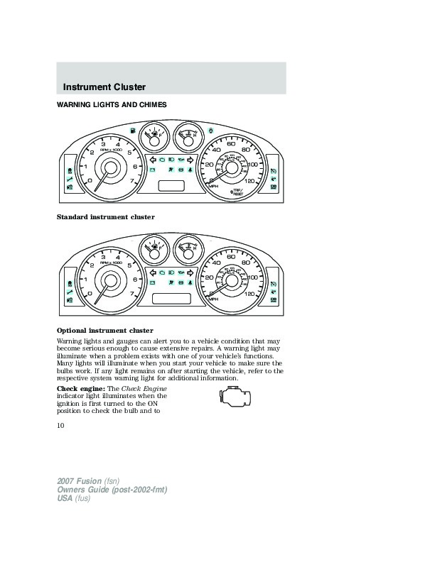 2007 ford fiesta owners manual pdf
