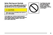 2005 Chevrolet Cobalt Owners Manual, 2005 page 3
